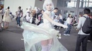 White royals @ ComicUp 22 in Shanghai, China (косплей by Weibo @yui_jinyu, song: Beatowski - Blind Faith) · coub, коуб