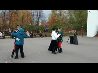 """Вальс на фестивале """"В гостях у Нежинских гусар"""""""