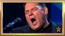 Jon nunca había tenido la oportunidad de cantar hasta ahora Audiciones 5 Got Talent España 2019