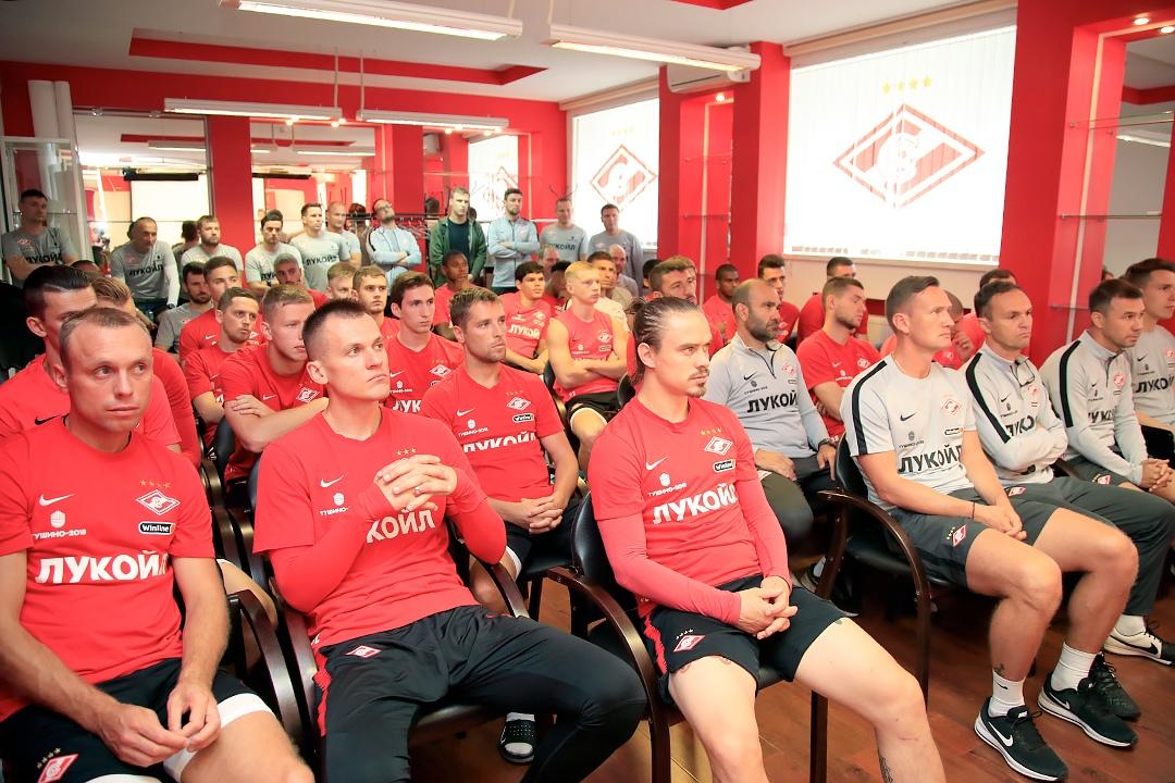 «Спартак» начал подготовку к новому сезону (Видео)