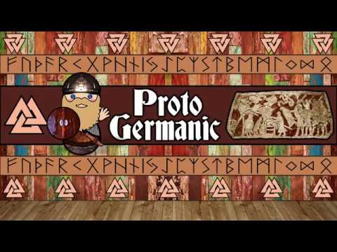 The Sound of the Proto-Germanic Language (Schleicher's Fable Numbers)