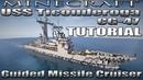 Minecraft Ship Tutorial - USS Ticonderoga CG-47 (Guided Missile Cruiser)