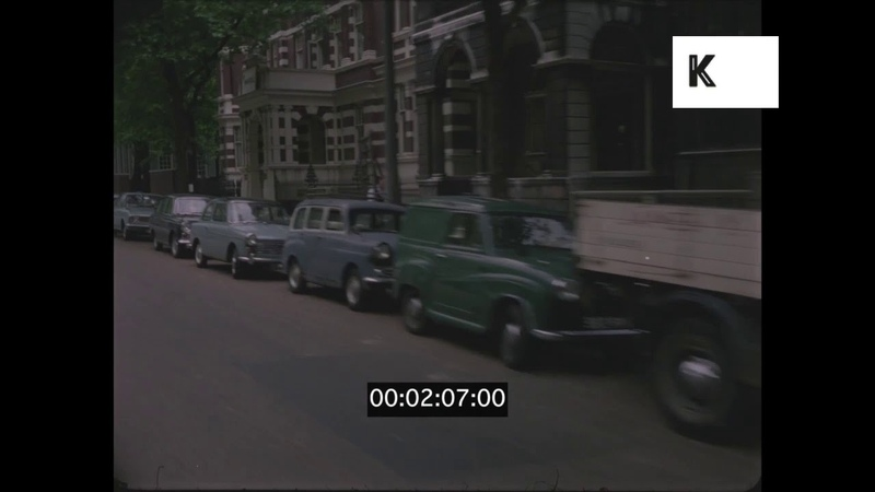 1960s 1970s POV Driving Edgware and Chelsea 35mm