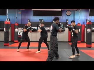 Kickboxing Classes for Adults - E8 Intermediate Partner - Sensei  _ Tiger