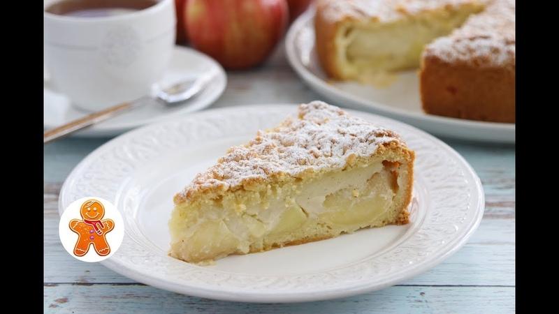 Яблочный Пирог с Заварным Кремом ✧ Шарлотка По-Польски ✧ Szarlotka z Budyniem