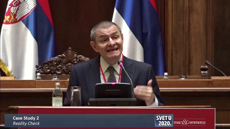 Konferencija The Economist Svet u 2020 - Case Study 2 Reality Check - Nebojša Katić