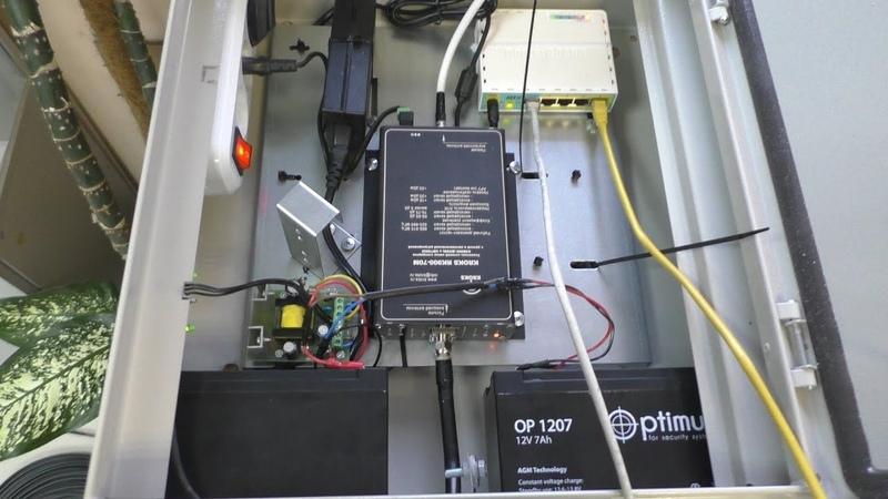 Сборка щита для Связи GSM и Интернет 3G/4G