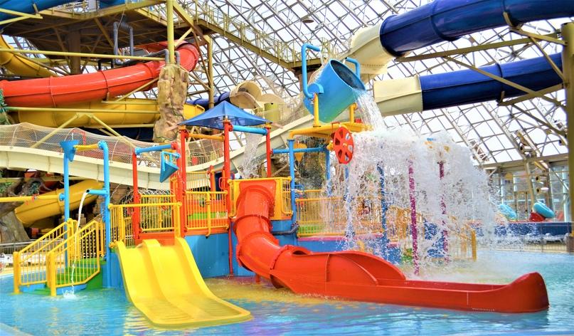 Детская водная интерактивная площадка AquaPlay