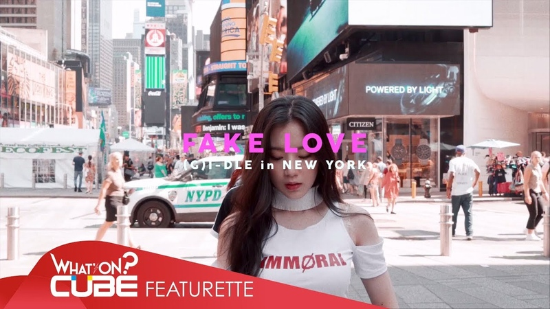 여자 아이들 G I DLE 'FAKE LOVE BTS Dance Cover in New York '