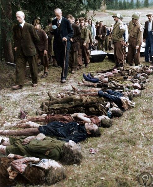 Цветные фото ужасов Холокоста