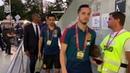 ¡La Selección llega al Estadio Nacional de Bucarest