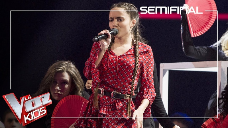 Sara Gálvez canta 'Perdón' | Semifinal | La Voz Kids Antena 3 2019