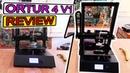 Ortur 4 V1 3D Printer Review Tests PLA ABS PETG FLEX NYLON