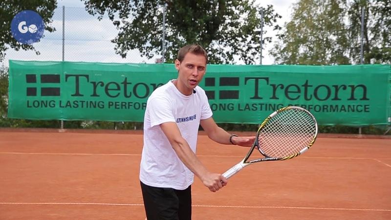 Уверенная игра у сетки в теннисе Часть 6 Удар слева с лета