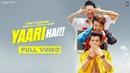 Yaari hai Tony Kakkar Siddharth Nigam Riyaz Aly Happy Friendship Day Official Video