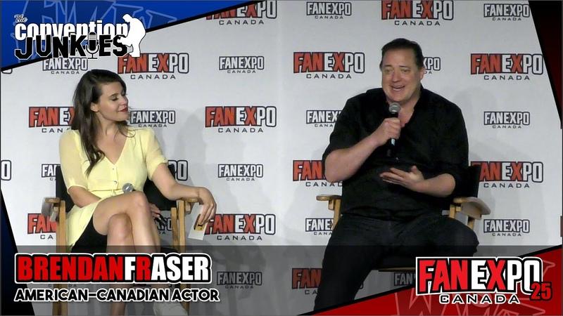 Brendan Fraser The Mummy Doom Patrol Fan Expo Canada 2019 Q A Panel