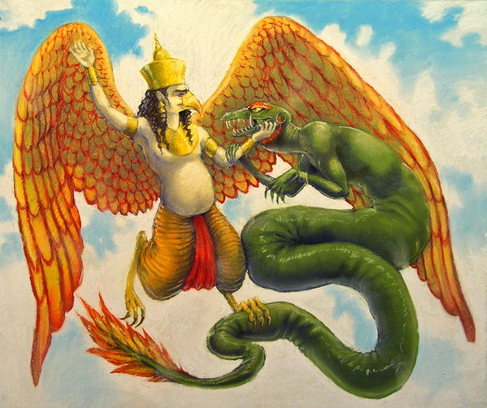 Книга - ПТИЦЫ И ЗМЕИ ВЕДИЙСКОЙ МИФОЛОГИИ О.Н. Куслий 8_9hZEEmVhY