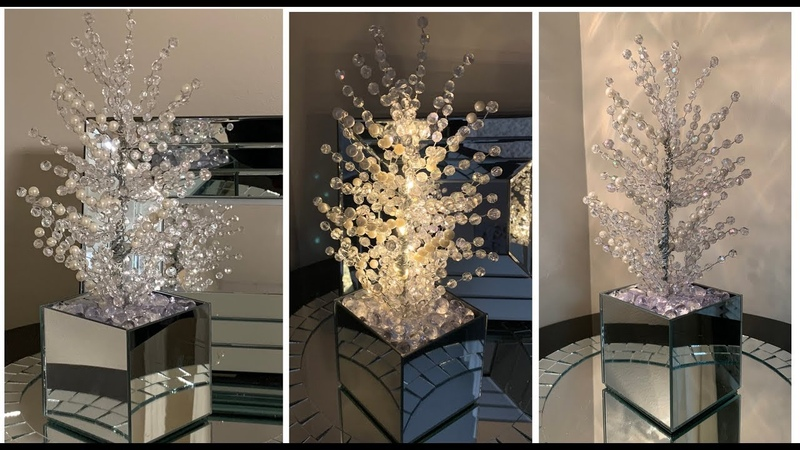 Modern Glam || 💕Crystal LED Lighted Tree ||💕