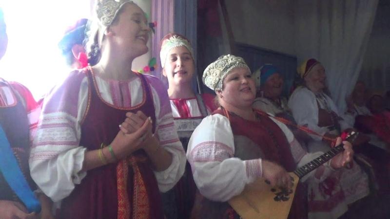 Рудненский каравай Кудесы Фольклорный театр из Новгорода 22 06 2019