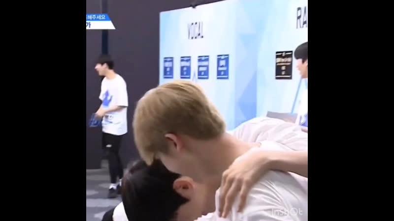 Jinwoo's appa uwu