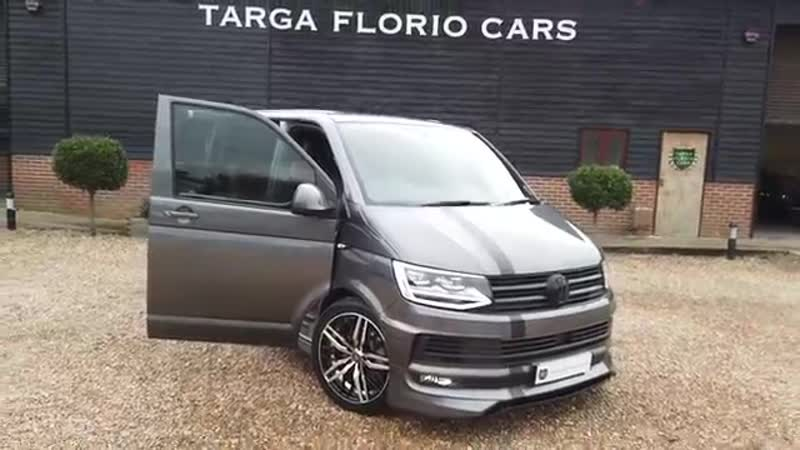 ABT VW Transporter [T6] T32 2.0 TSI Highline DSG 5 Seat Finished in Indium Grey