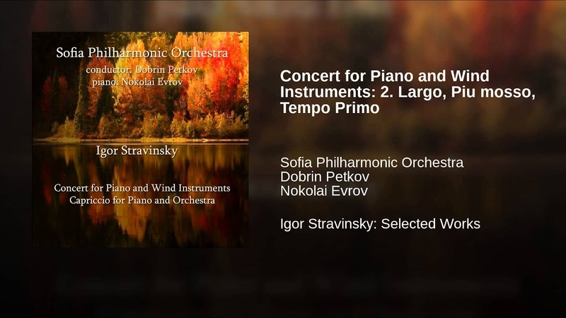 Concert for Piano and Wind Instruments: 2. Largo, Piu mosso, Tempo Primo