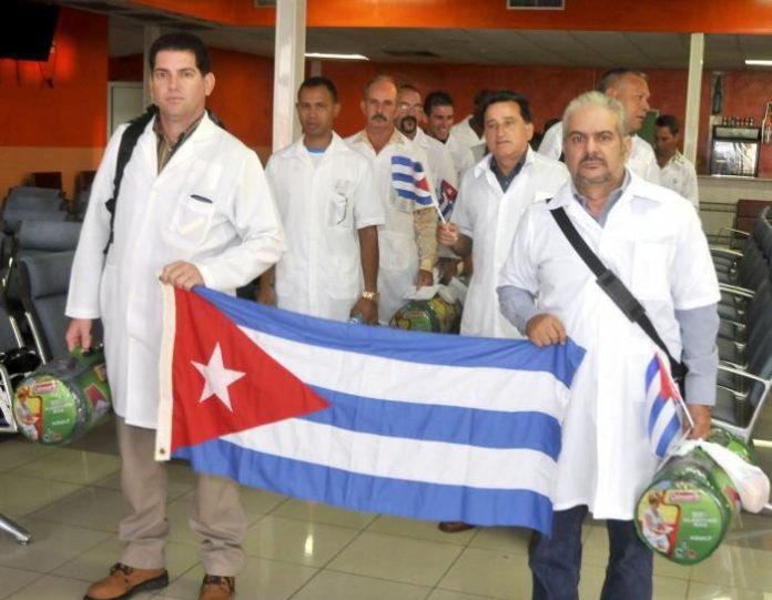 Kubos medikai Italijoje