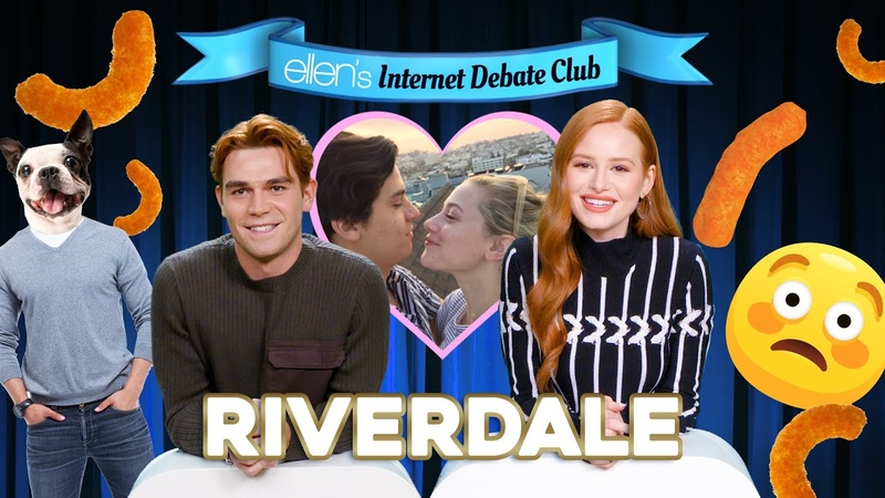 Riverdale Stars Debate the Importance of Washing Your Legs
