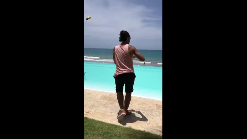 Carlos bailando Bachata Dominicana Porque Te Ries de Mi