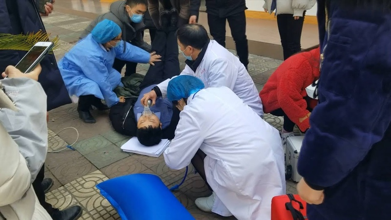 Coronavirus fight: Official faints while handling epidemic control in Shaanxi