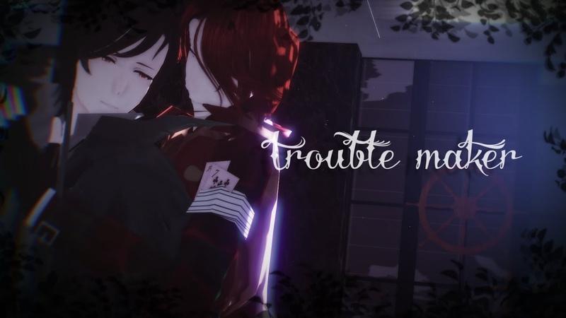 【identity v/第五人格/MMD】trouble maker(joker x jack)