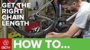 How To Calculate The Correct Chain Length | Road Bike Maintenance