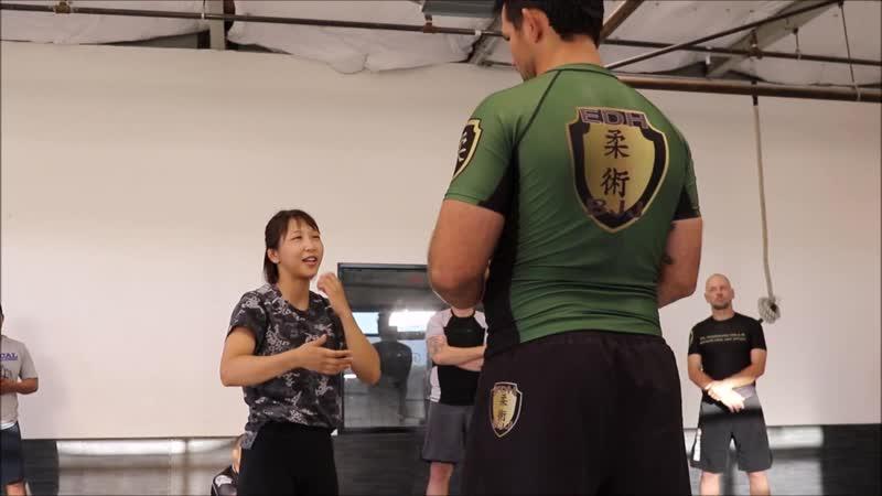 Takedown Seminar by Miyu Nakamura bjf_seminar bjf_wrestling