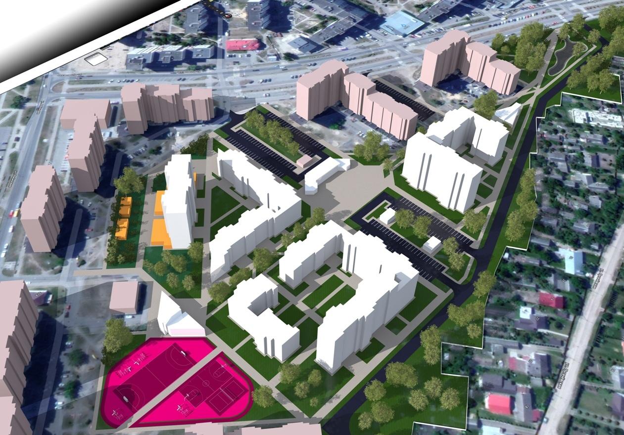 Объявлены обсуждения концепции: «Группа многоэтажных жилых домов по ул. Вульковская»