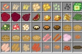 minecraft food chart - 778×539