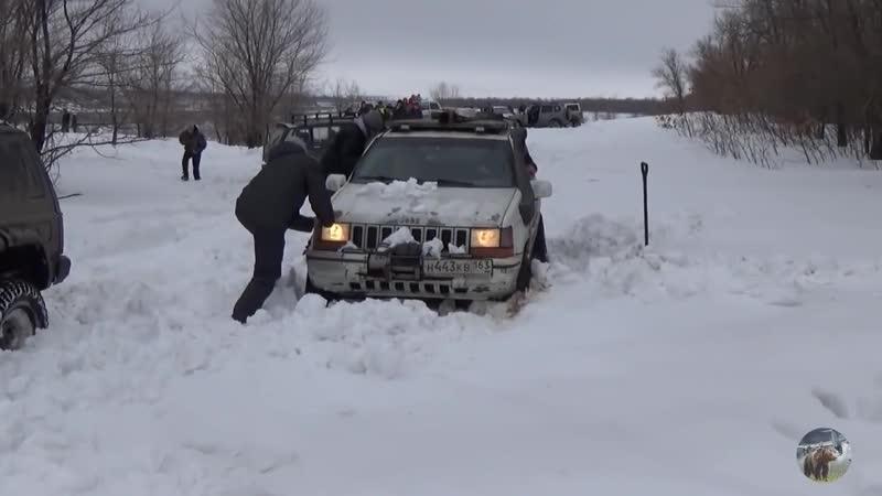 В битве Чероки и Гранд Чероки побеждает старенькая Нива Jeep Grand Cherokee vs Jeep Cherokee
