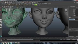 Autodesk Maya Blendshapes Making part 01