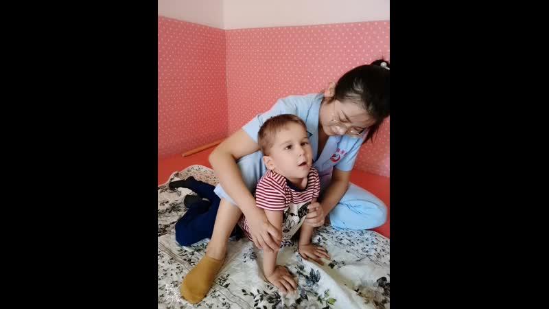 Клиника ТайКан Шочжоу Китай Юра Бабурцев на занятии