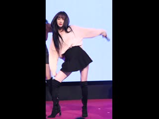 Gfriend yujus jiggly thighs!