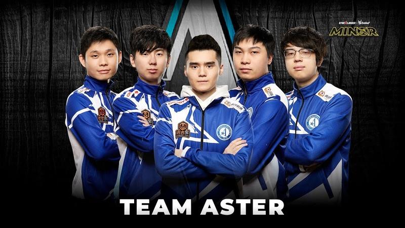 Team Profile Team Aster StarLadder ImbaTV Dota 2 Minor Season 3
