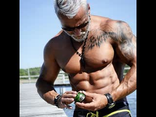 Fittest old man in real gym pete koch _ muscle madness