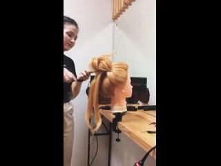 Видео, как создавался пучок с рёбрышками