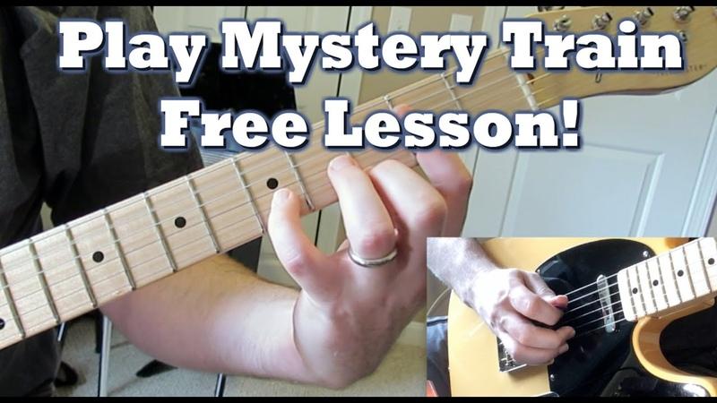 Rockabilly Guitar Lesson Mystery Train [Part 1]