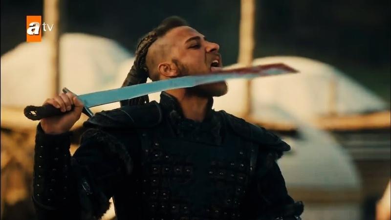 هجوم المغول على قبيلة الكاي الحلقة 10 مسلسل ق