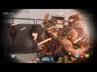 Probably the most cinematic final kill i've ever seen. modern warfare