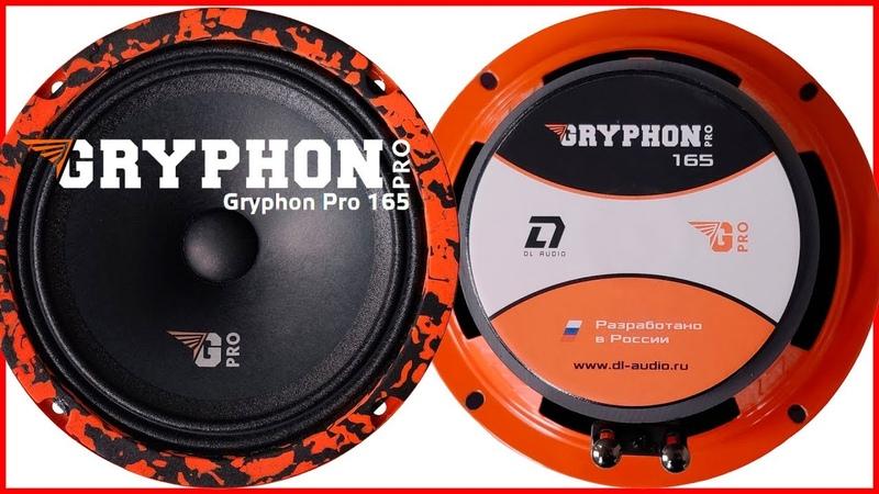 DL Audio Gryphon pro 165 распаковка обзор прослушка
