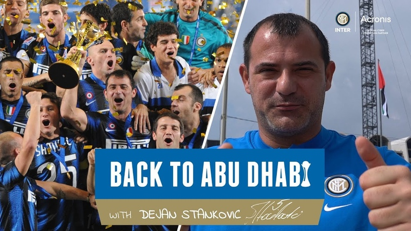BACK TO ABU DHABI WITH DEJAN STANKOVIC 🔙⚫🔵🇦🇪 A vlog powered by Acronis