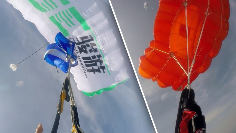 Friday Freakout Double Trouble Wingsuiter Has Line Twists On Main Reserve Parachute