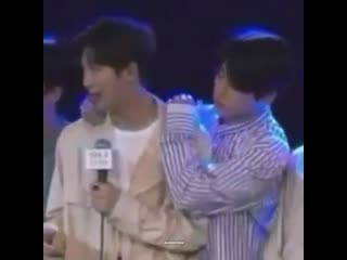 Joonie is really Jungkook's safe person