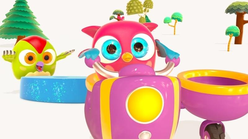Çizgi film. Hop Hop ile çocuk şarkıları! Sessiz ve gürültüyle nedir öğrenelim!